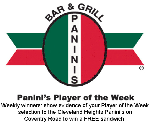 Panini's Player of the Week